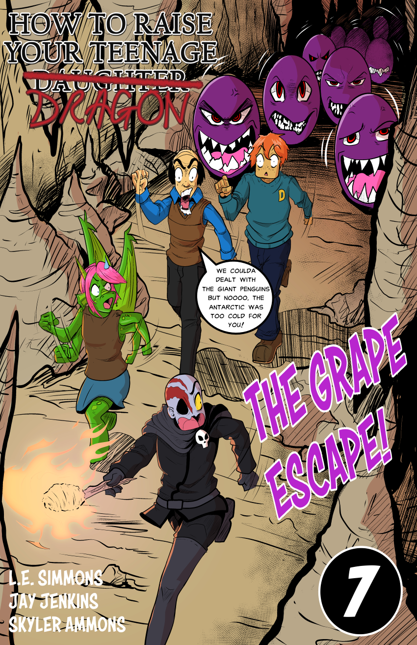 Issue 7: The Grape Escape